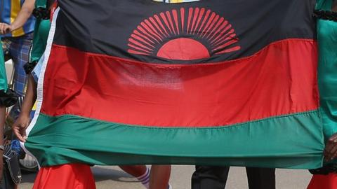 The Malawi flag