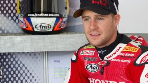 World Superbike rider Jonathan Rea