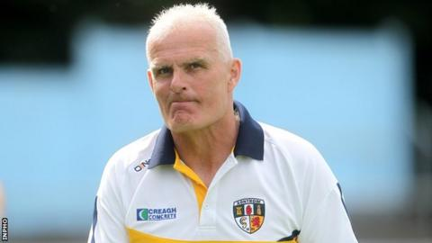 Liam Bradley has been in charge of Antrim for four years