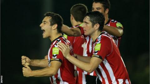 Derry City beat UCD 1-0 in the third round of the FAI Cup