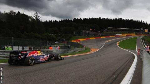 Spa Francorchamps, the 2011 Belgian Grand Prix