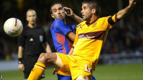 Motherwell trail 2-0 from the first leg at Fir Park