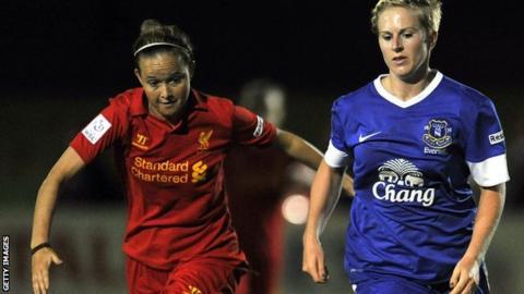 Natasha Dowie (right) scored the winner for Everton