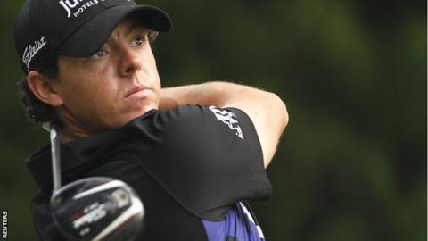 US PGA winner Rory McIlroy