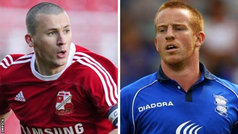 Paul Caddis and Adam Rooney