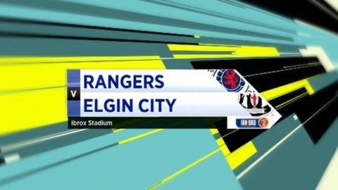 Highlights - Rangers 5-1 Elgin City