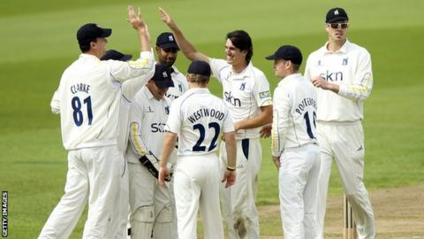 Warwickshire players