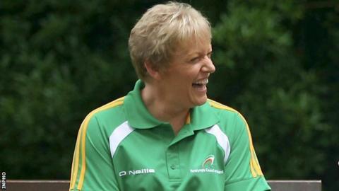 Eilish Byrne won an equestrian team bronze medal for Ireland on Sunday