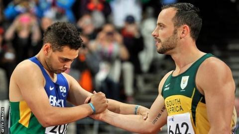 Alan Oliveira & Oscar Pistorius