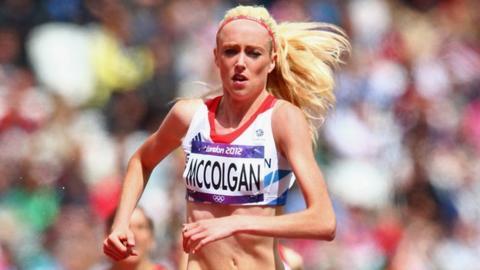 Scottish athlete Eilish McColgan
