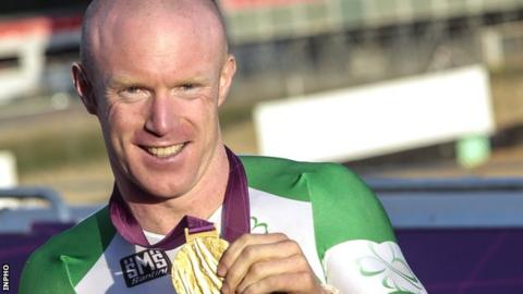 Mark Rohan also won Wednesday's time trial event