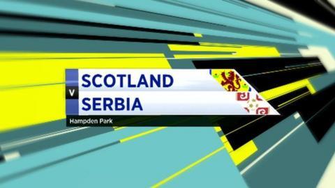 Scotland 0-0 Serbia