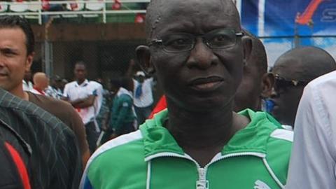 Sierra Leone's sports minister Paul Kamara