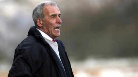 Aberdeen coach Jocky Scott