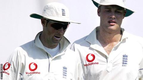 Marcus Trescothick and Andrew Flintoff