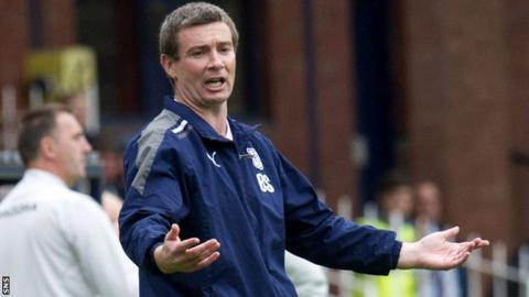 Dundee maanger Barry Robson