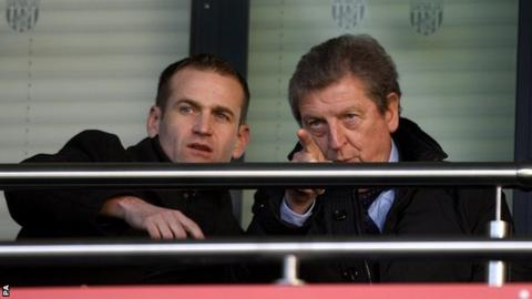 Dan Ashworth and Roy Hodgson