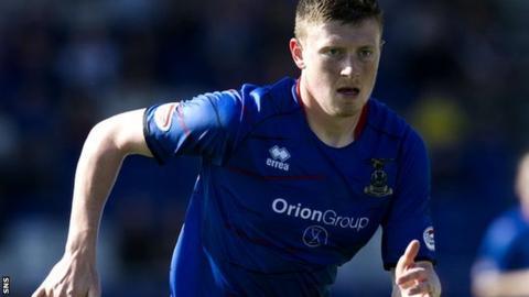 Inverness forward Shane Sutherland