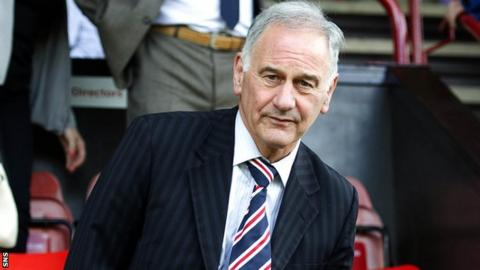 Rangers chief executive Charles Green