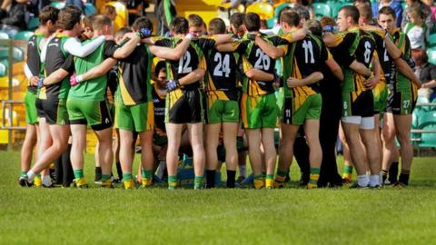 The Donegal team