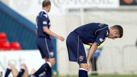 Ross County's 40-game unbeaten league run came to end in Dingwall