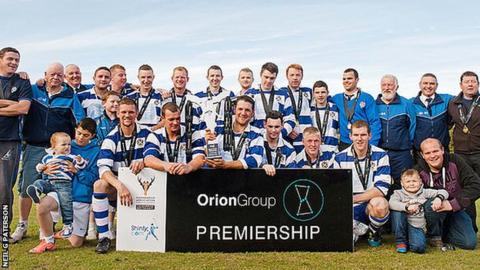 Newtonmore are Premiership champions once again