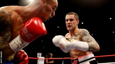 Ricky Burns versus Kevin Mitchell