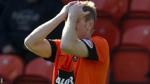 Dundee United forward Michael Gardyne