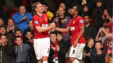 Darren Fletcher and Anderson