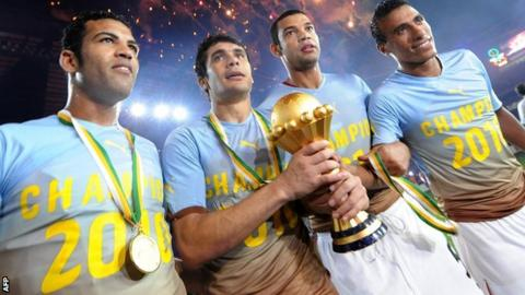 Egypt crowned 2010 Afcon champions
