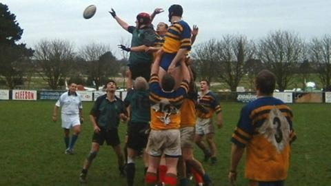 Jersey league rugby match
