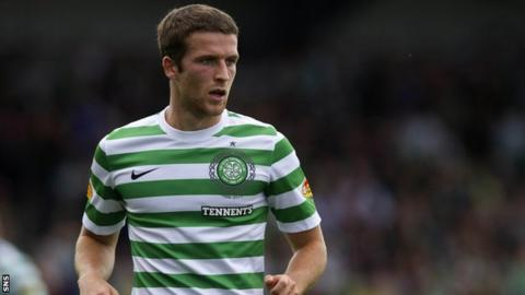 Celtic defender Adam Matthews