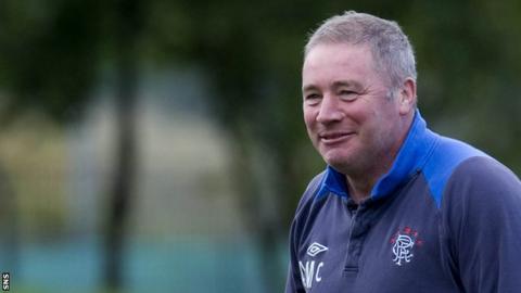 Rangers boss Ally McCoist