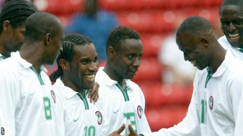 Nigeria v Venezuela 2003
