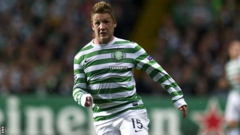 Celtic forward Kris Commons