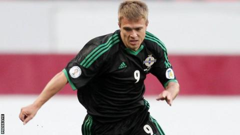 Jamie Ward in action against Russia last month