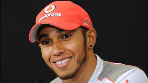 Britain's Lewis Hamilton