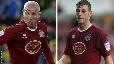 Luke Guttridge and John Johnson