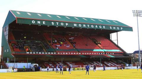 Glentoran's ground is the Oval