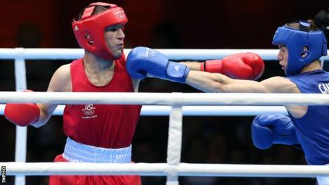 John Joe Nevin was beaten by Britain's Luke Campbell in the Olympic bantamweight final in London