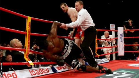 David Price knocks out Audley Harrison