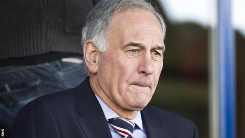 Rangers chief executive Charles Green