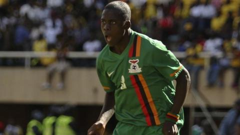 Chisamba Lungu of Zambia