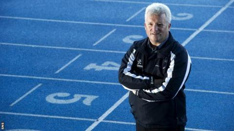 Scotland athletics coach Stephen Maguire