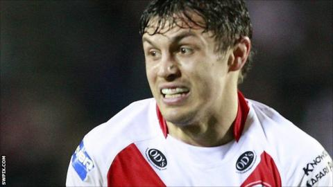 St Helens forward Jon Wilkin