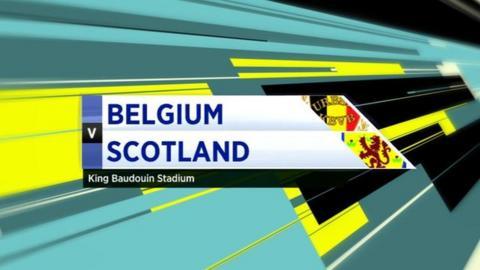 Belgium v Scotland