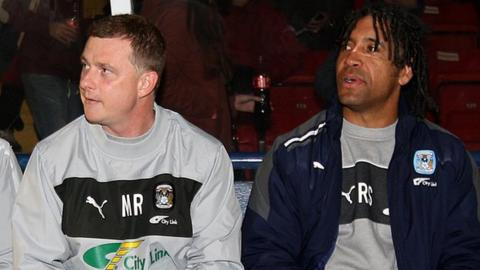 Mark Robins and Richard Shaw