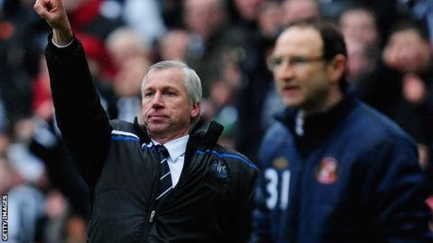 Alan Pardew and Martin O'Neill