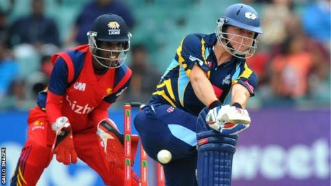 Champions League T20 Yorkshire Suffer Last Over Defeat