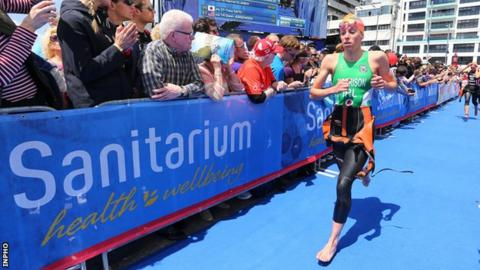 Aileen Morrison had to pull out of the event in Auckland